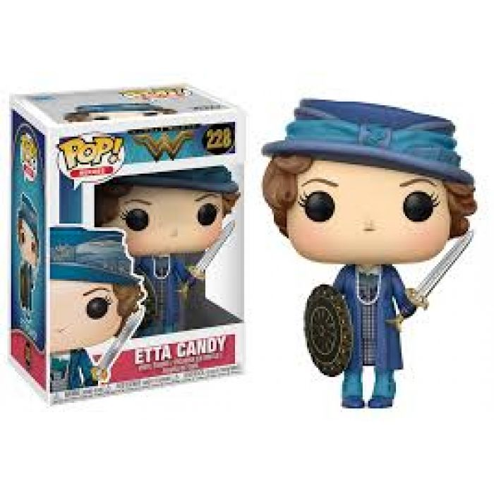 Figura Funko Pop! Etta with sword &amp shield Wonder Wo