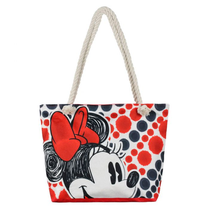 Bolsa Playa Minnie Mouse Disney