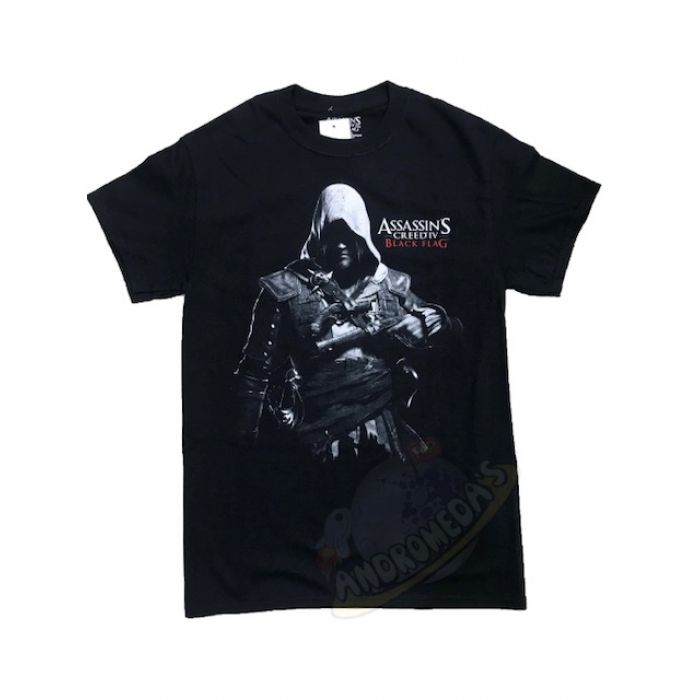 Camiseta Assasins Creed IV Black Flag