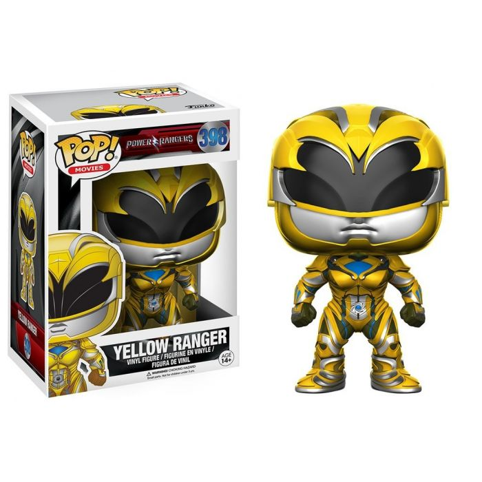 Figura Funko Pop! Ranger Amarillo Power Rangers