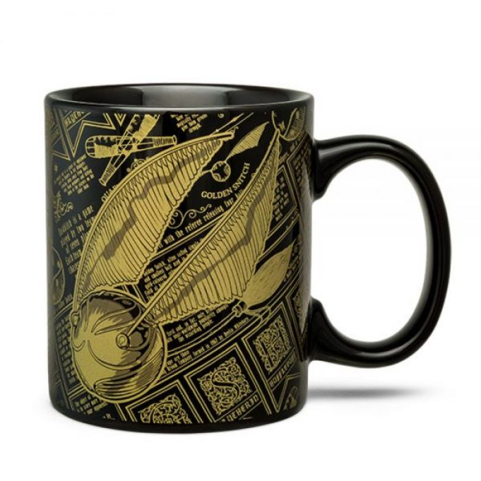 Taza Snitch Dorada Harry Potter