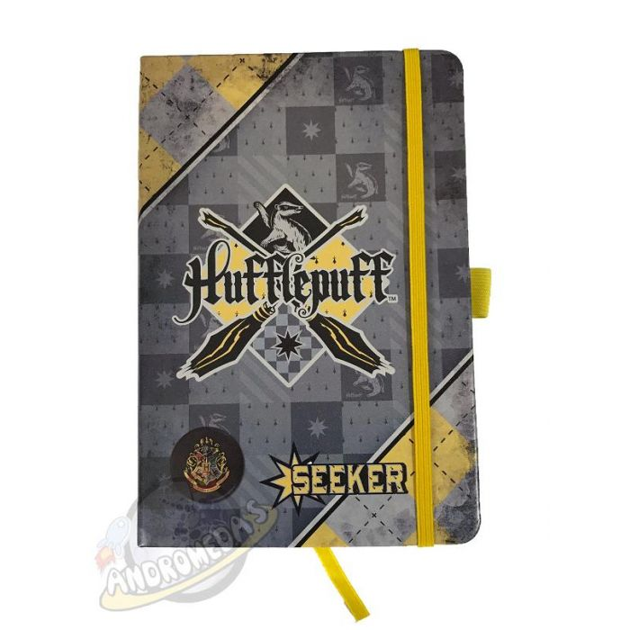 Diario Harry Potter Quidditch Hufflepuff