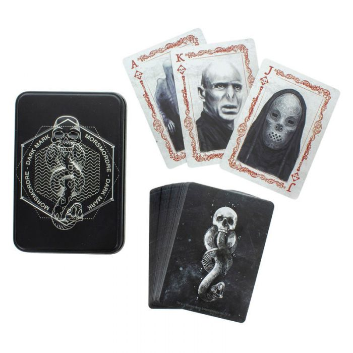 Baraja Cartas Mortifagos Artes Oscuras Harry Potter