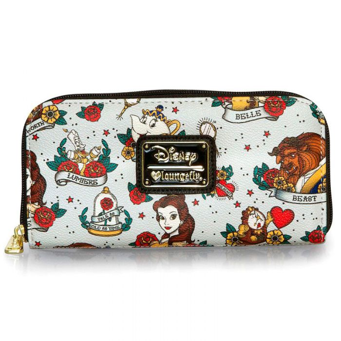 Beauty and The Beast Wallet Disney Loungefly