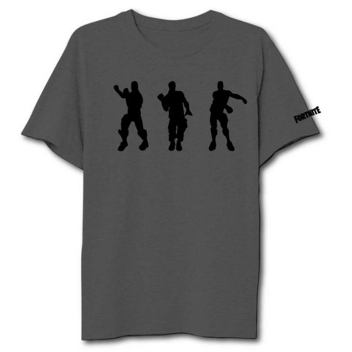 T-Shirt Fortnite Dancing Dark Grey Adult