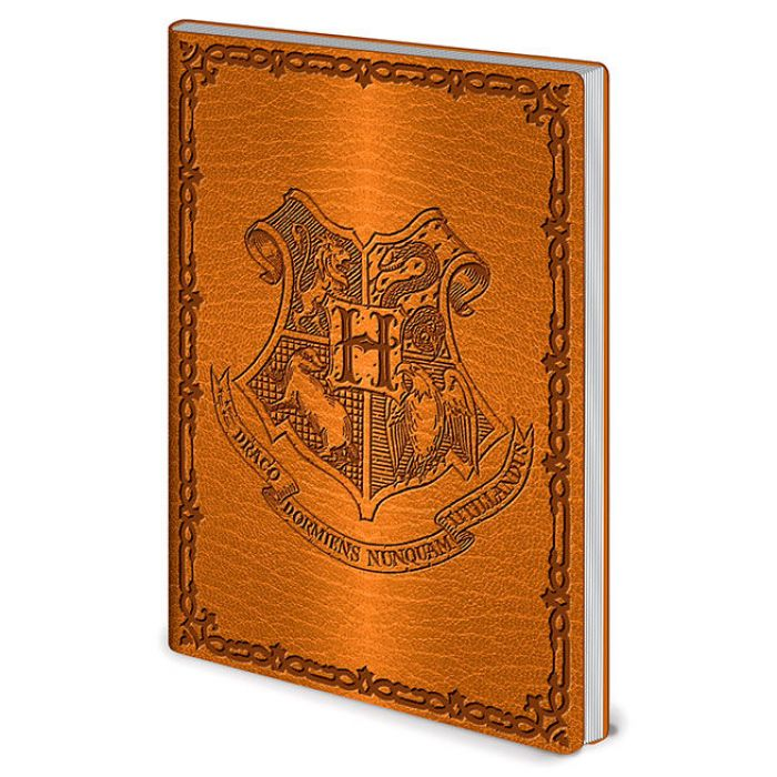 Cuaderno A5 Hogwarts Harry Potter