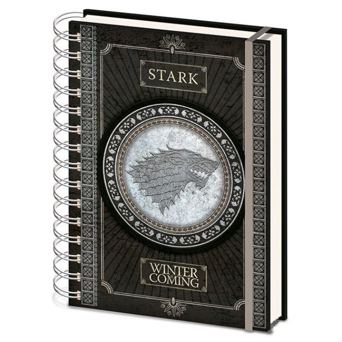 Notebook A5 Stark Game of Thrones