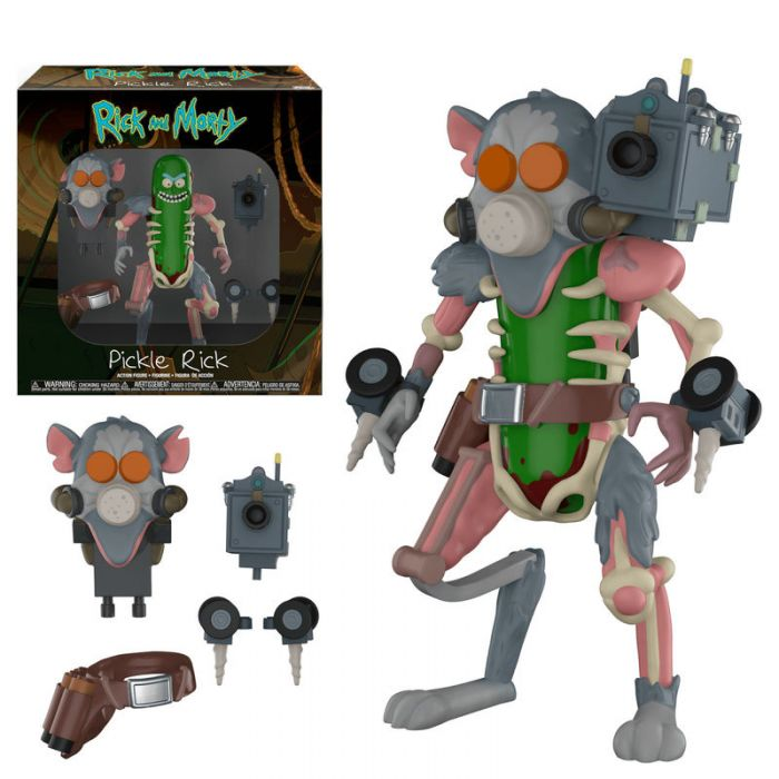 Figura Action Rickinillo Pickle Rick Rick y Morty