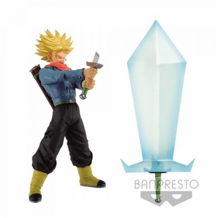 Figura Banpresto Dragon Ball Trunks +Blade 24 cm