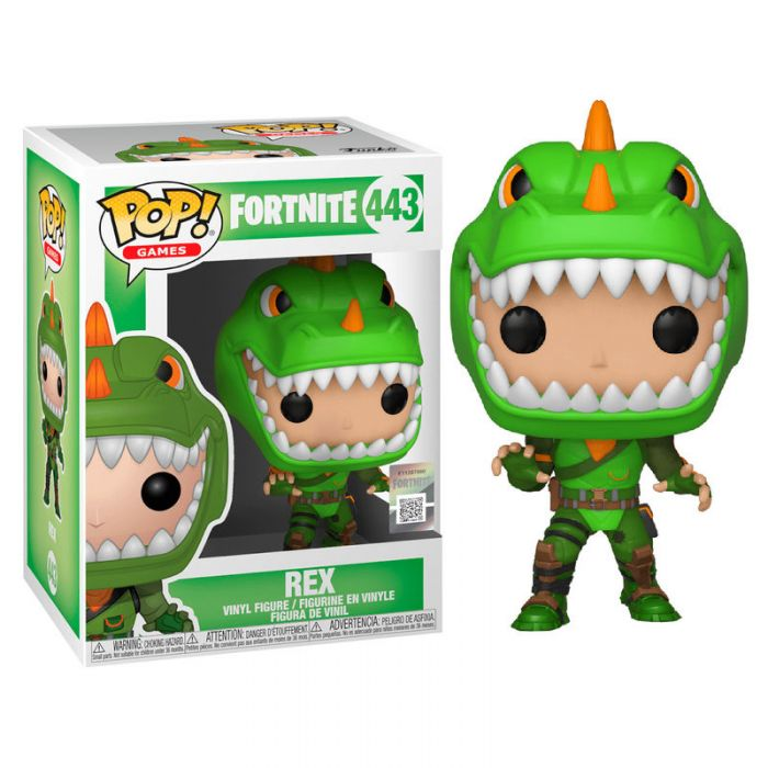 Figura Funko Pop! Fortnite Rex