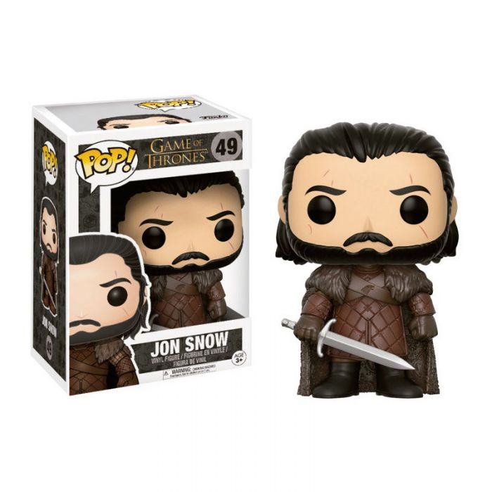 Figura Funko Pop! Jon Snow Juego de Tronos Game Of Thrones