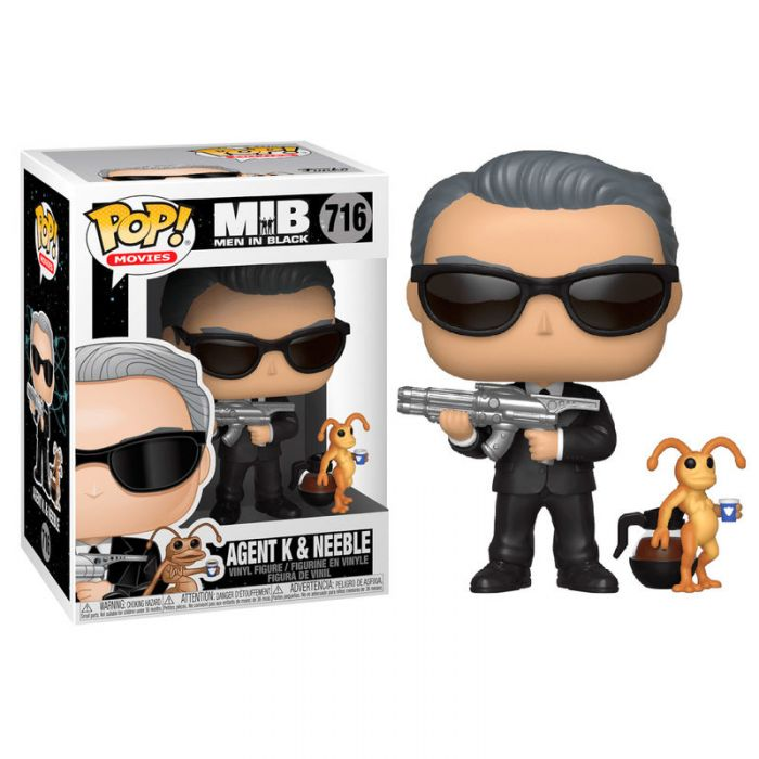 Figura Funko Pop! Men In Black Agent K & Neeble
