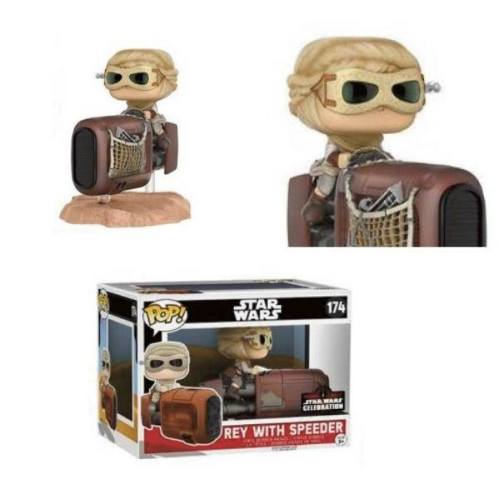 Figura Funko Pop! Rey with Speeder Star Wars Episode VII