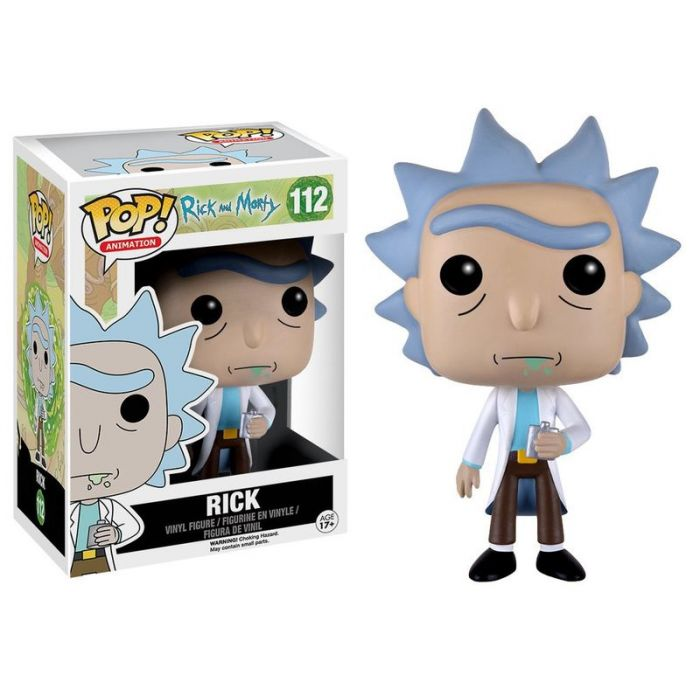 Figura Funko Pop! Rick Sanchez Rick y Morty