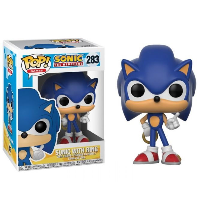 Figura Funko Pop! Sonic with Ring
