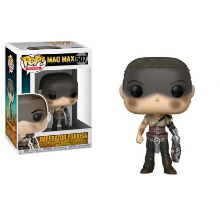 Figura Pop! Mad Max Fury Road Furiosa