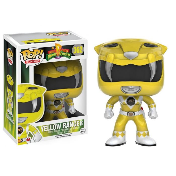 Figura Pop! Power Ranger Amarillo