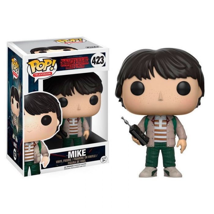 Figura Pop! Stranger Things Mike con walkie-talkie