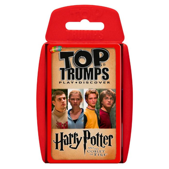 Juego cartas Harry Potter y el Caliz de Fuego Top Trumps