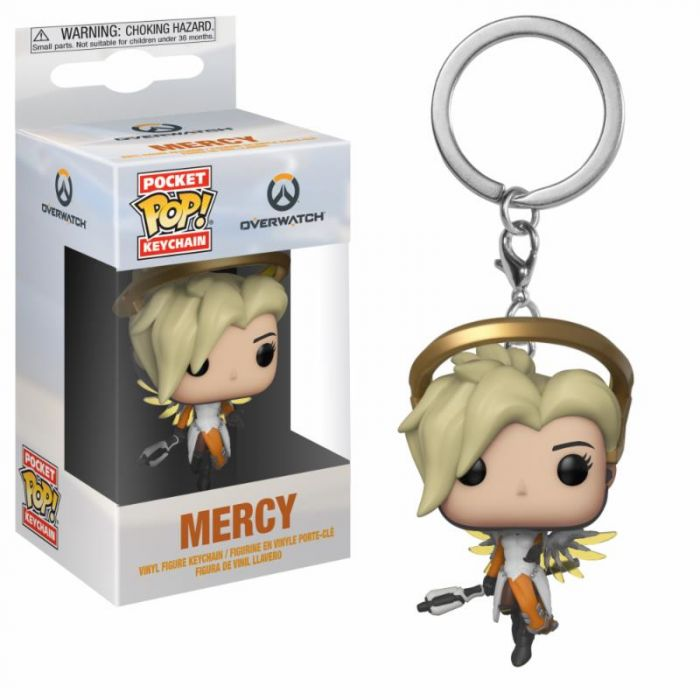 Llavero Funko Pop! Mercy Overwatch