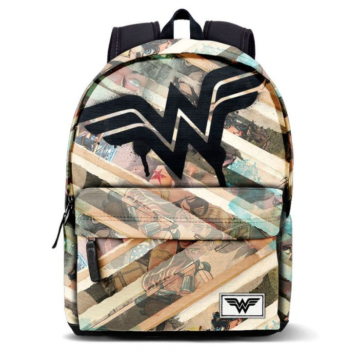 5ba7bc6313d0 Wonder Woman DC Comics Collage Backpack 42cm