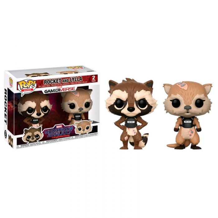 Pack Funko Pop! Rocket y Lylla