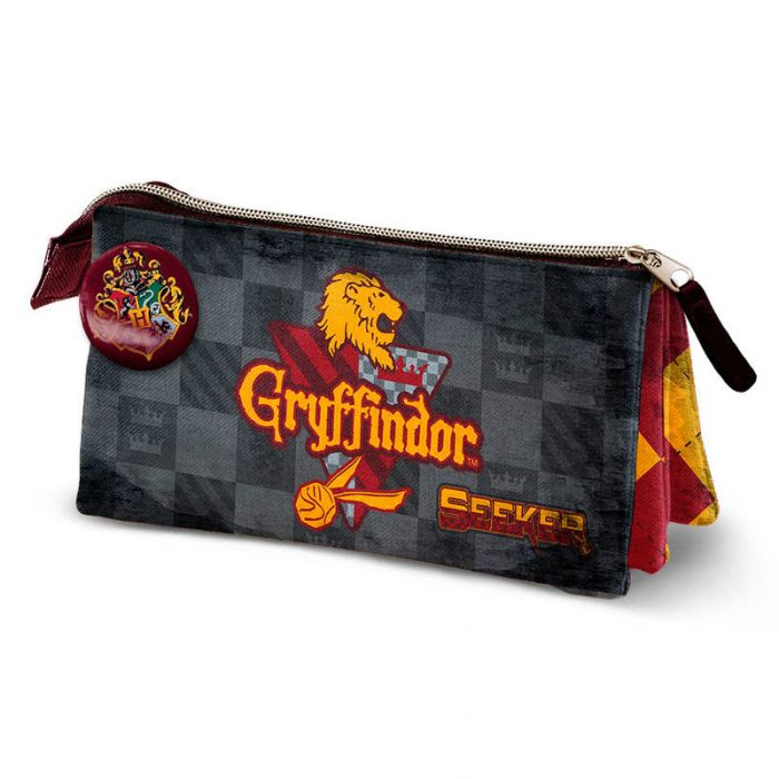 Portatodo Harry Potter Quidditch Gryffindor triple