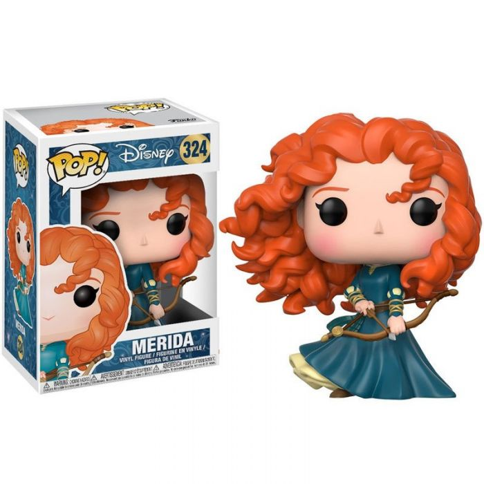 PRE-RESERVA Figura Pop! Disney Princesas Merida