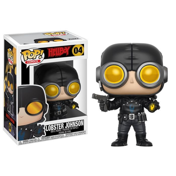 PRE-RESERVA Figura Pop! Lobster Johnson Hellboy