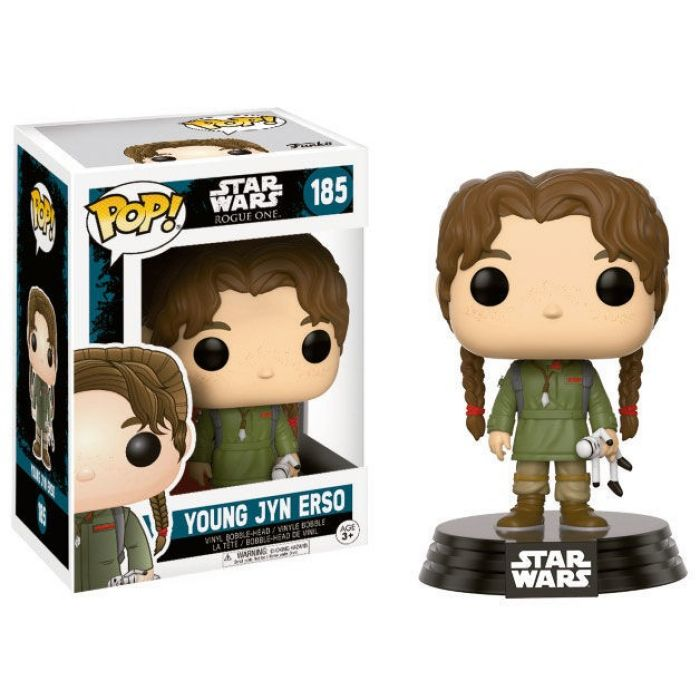 Figura POP! Star Wars Rogue Young Jyn
