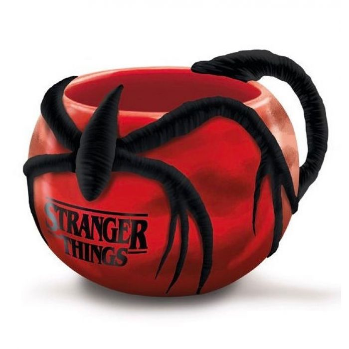 Taza 3D Azotamentes Stranger Things