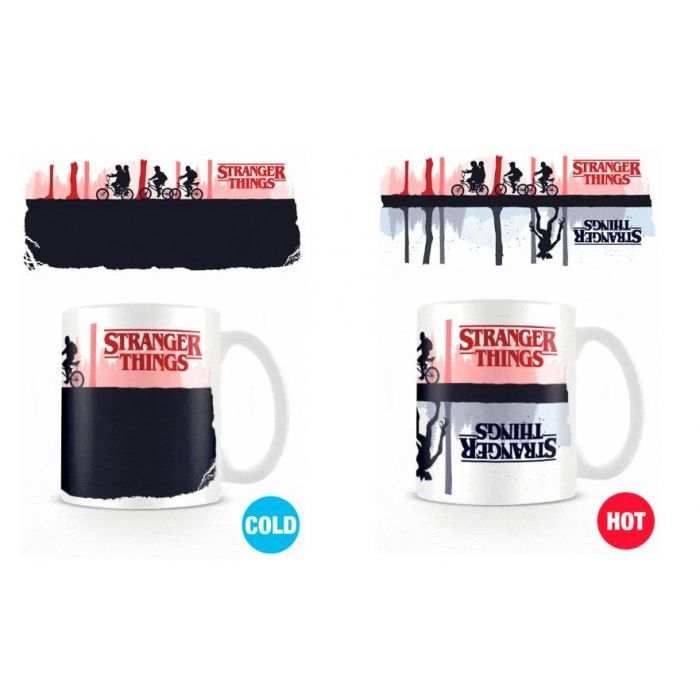 Taza Calor Upside Down Stranger Things