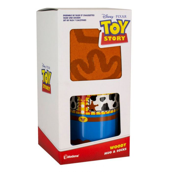 Breakfast Cup and Socks Woody Toy Story Disney