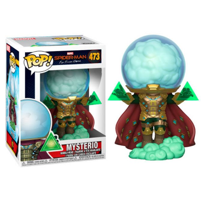 Figure Funko Pop Mysterio Spider Man Far From Home Marvel